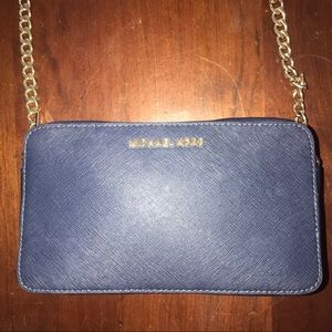 Michael Kors Crossbody Navy Blue